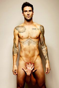 adam levine nude. Wishing those were my hands. Dam!