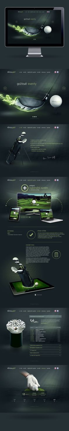 kinca.golf on Web Design Served repinned by www.BlickeDeeler.de