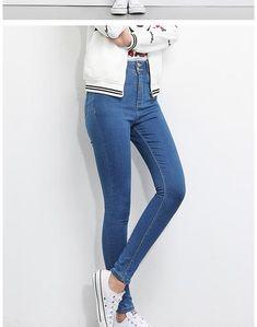b39d2ccc13104 LEIJIJEANS 2019 Plus Size button fly women jeans High Waist Black pants  jeans for women high