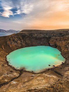 Askja Volcano, Iceland