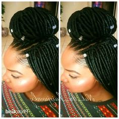 Big Hair Don't Care 30 Dazzling Crochet Braids Crochet Braids Hairstyles, Cute Hairstyles, Braided Hairstyles, Black Hairstyles, Crotchet Braids, Hairstyles Pictures, Updo Hairstyle, Formal Hairstyles, Braided Updo