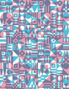 Geometric transparent pattern by lizzie