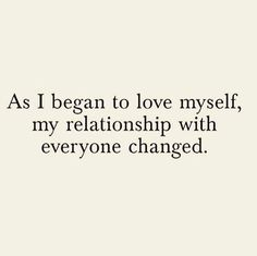 Love yourself to love others