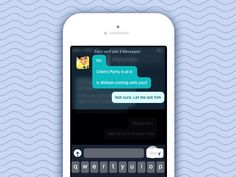 View the full case study at  Prabros. Design blog. _____________________________________________________  An interaction design that allows a user to reply incoming chats right from the notificatio...