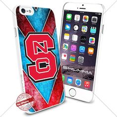 "NCAA NC State Wolfpack iPhone 6 4.7"" Case Cover Protector for iPhone 6 TPU Rubber Case White SHUMMA http://www.amazon.com/dp/B0175M2WYC/ref=cm_sw_r_pi_dp_9SKTwb084VCN3"