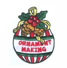 Get your Girl Scout troop together to make ornaments for the holiday. Make sure to donate some to your local shelter or nursing home! Fun patch available at MakingFriends.com