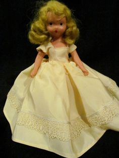 Nancy Ann Story book doll in bisque beautiful clothes old doll