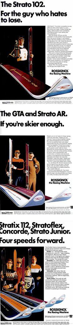 SKIING Dec 1970 - Rossignol - pugski