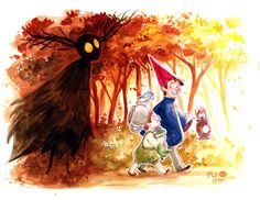 Resultado de imagen para over the garden wall watercolor