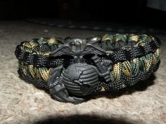 USMC Memorial Bracelets Coullard special edition black by TheAGOGE, $23.00