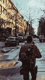 """strategichomelanddivision: """" Some new environment footage for Tom Clancy's The Division """" Tom Clancy The Division, Gears Of War, New Environment, Nerd Geek, Bradley Mountain, Concept Art, Video Games, Toms, Sci Fi"""