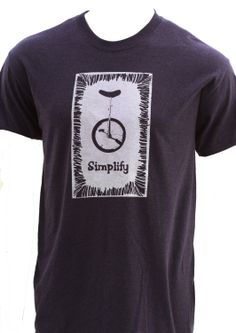 Funny Unicycle Simplify T Shirt