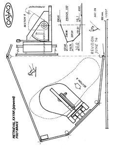 Marine Plywood version of the Retrieval Kayak, designed by Renzo Beltrame