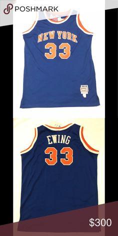 Ewing jersey NEW YORK KNICKS!! 85-86 Patrick Ewing 33 NYC Knicks 85 05aa862b5