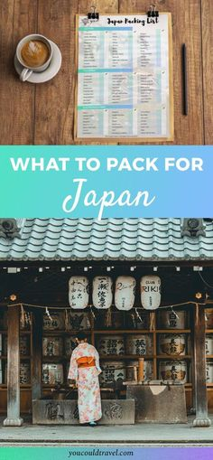 What to pack for Japan - Wondering what to pack for Japan and not too sure where to start? Here is our comprehensive packing list for Japan to ensure you have everything you need prior to your trip. We want to help you minimize any potential stress by sharing with you our Japan travel checklist.