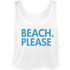 Beach Please Bachelorette | Beach. Please! Having the bachelorette on spring break or just to the beach for a bachelorette weekend? Customize cute and trendy crop tops for everyone there!