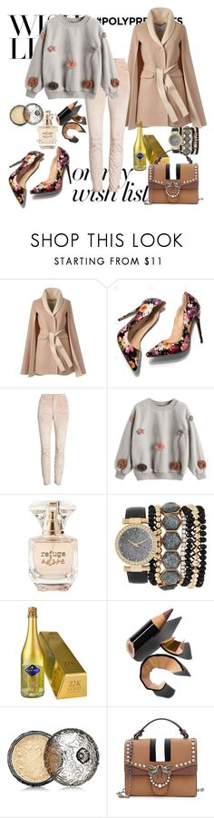 """""""#PolyPresents: Wish List"""" by ilove-804 ❤ liked on Polyvore featuring 7 For All Mankind, Refuge, Jessica Carlyle, Bobbi Brown Cosmetics, Anna Sui, contestentry and polyPresents"""
