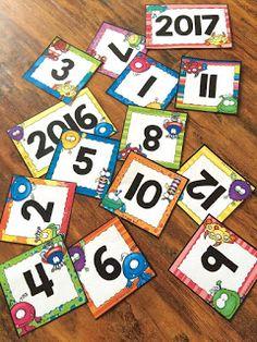French Buzz - ressources en français: Étiquettes pour le calendrier - les… Weather Vocabulary, Number Activities, French Lessons, Alphabet, Classroom, Kids Rugs, Education, Maths, Montessori