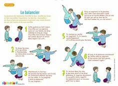 le balancier (Yoga maternelle)