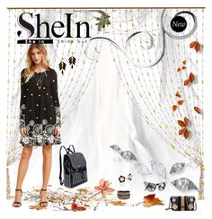 """""""SheIn ~ Sweet Retro Tunic . . ."""" by ginamichelemoore ❤ liked on Polyvore featuring WithChic, Crate and Barrel and shein"""