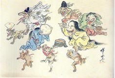 Le importó poco ser censurado, por ello siempre dijo lo que pensaba de la sociedad japonesa a través de pinturas y caricaturas.