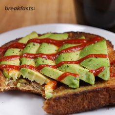 Avocado Toast Recipe by Tasty