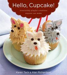 Hello Cupcake!, cupcakes, birthdays, parties, kids, cakes, dessert, dog party, ideas, instructions - Image courtesy of Houghton Mifflin Harcourt