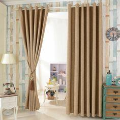 cortinas de salon, color avellana claro, paredes de tapices de papel, elementos vintage, colores pasteles