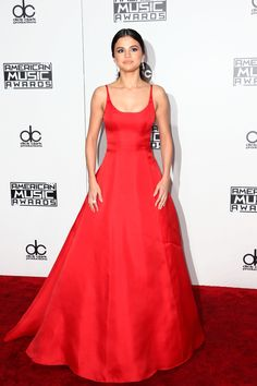 LOS ANGELES, CA - NOVEMBER 20:  Actress/singer Selena Gomez attends the 2016 American Music Awards at Microsoft Theater on November 20, 2016 in Los Angeles, California.  (Photo by Frederick M. Brown/Getty Images) via @AOL_Lifestyle Read more: http://www.aol.com/article/entertainment/2016/11/20/selena-gomez-amas-2016/21610416/?a_dgi=aolshare_pinterest#fullscreen