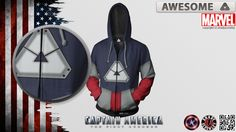 "Awesome Touch Superheroes ""Captain Awesome/America"""