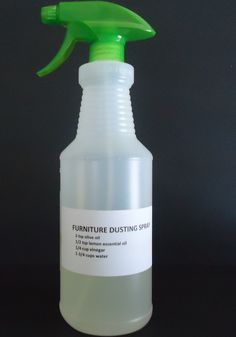 "Homemade Furniture Dusting Spray | The ""Make Your Own"" Zone"