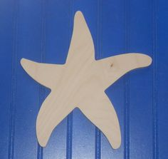 6 Beach Shapes Unpainted Wooden Wall Hanging Room by LettersForYou