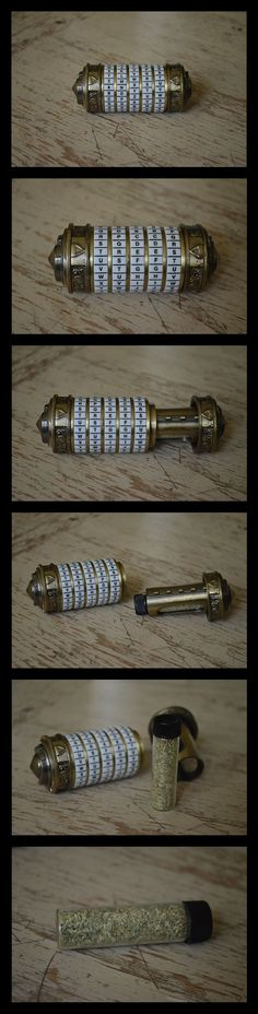 If the device looks familiar, you likely remember it from the movie The Da Vinci Code. It was sold alongside a special edition box set of the movie.