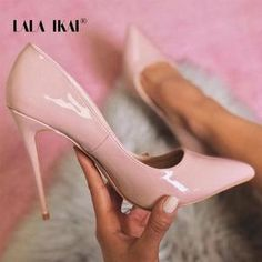 4a7ea1c88d6 LALA IKAI Pointed Toe Women Thin Heel Shoes 12cm High Heel Pumps Sexy  Office Lady Shoes Classic Wedding Party Shoes 014C2086 -49