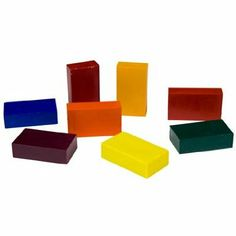 Amazon.com: Stockmar Beeswax Block Crayons,8 Assorted Waldorf Colors in Tin: Office Products