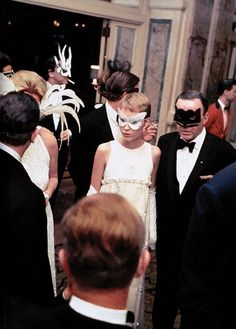El Black and White Ball, la fiesta más decadente de los '60
