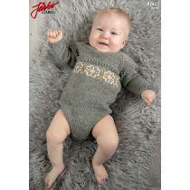 Lær deg å strikke - raggsokker Baby Sweater Knitting Pattern, Baby Knitting Patterns, Baby Patterns, Knitting Yarn, Free Knitting, Sport Weight Yarn, Dk Weight Yarn, Baby Set, Body Baby