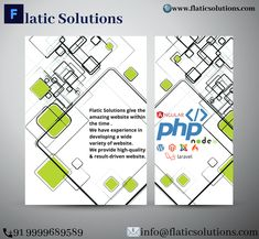 Welcome to Flatic Solutions! We are the top rated trustable & best it Solutions company in India & USA & UK. Best Web Development Company, Web Design, Logo Design, Got Quotes, Business Goals, Be Yourself Quotes, Digital Marketing, Website, Amazing