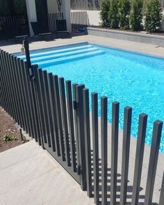 Everyone can view different types of our project here. Call us on 0423687498 for more information. Fence Around Pool, Pool Fence, Small Pool Design, Aquarium Design, Modern Pools, Fence Landscaping, Dream House Plans, Pool Designs, Outdoor Rooms