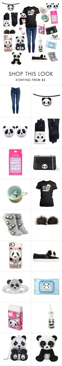 """My baby girl loves pandas"" by rainythedarklord ❤ liked on Polyvore featuring Aristide, Les Petits Joueurs, Forever 21, Casetify, Gund, TONYMOLY and Judith Leiber"