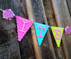 Its a girl banner, baby shower banner, baby shower decorations on Etsy, $20.50