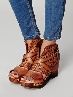 Free People Rendering Crochet Clog, $168.00 And I still have to have these.