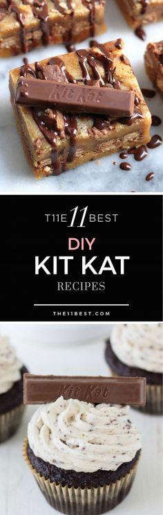 Homemade Kit Kat recipes and ideas.