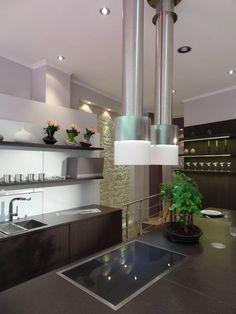 Diseño de cocina de Siematic París (Francia) con campana extractora Pando I-420