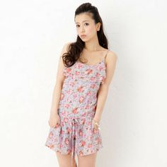 Buy 'ageha@shibuya – Drawstring-Waist Floral Chiffon Playsuit' with Free International Shipping at YesStyle.com. Browse and shop for thousands of Asian fashion items from Japan and more!
