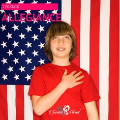 I Pledge Allegiance.  Short simple history of the Pledge.  Works are cited.