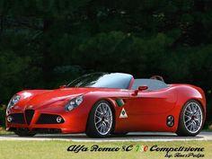 Alfa Romeo 8C 750 Competizione.