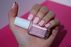 Nails, essie, fiji, pink