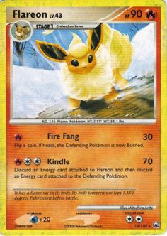 Pokemon Cards... omg evee does evolve