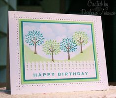 IC222~Ginko Papers CAS card by darleenstamps - Cards and Paper Crafts at Splitcoaststampers